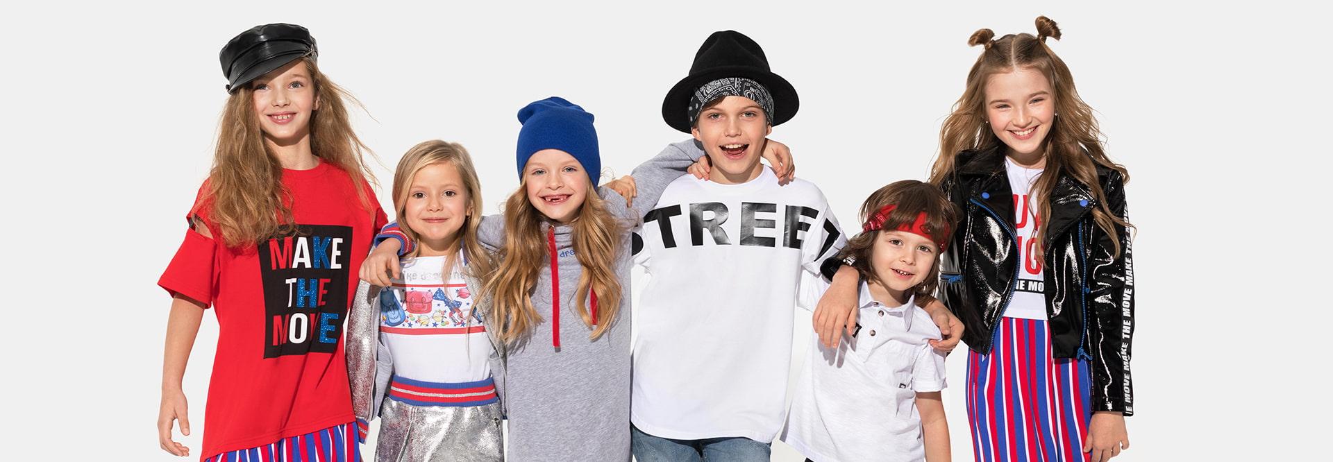 6dbd218b6f2 Модная детская одежда сезона весна-лето 2019
